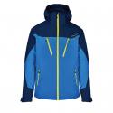 Pánska lyžiarska bunda BLIZZARD-Mens Ski Jacket Stelvio, bright blue/dark blue/neon green -