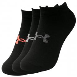 Dámske ponožky UNDER ARMOUR-UA Womens Essential NS-BLK