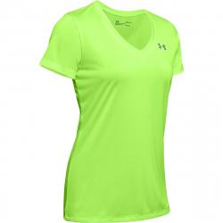 Dámske tréningové tričko s krátkym rukávom UNDER ARMOUR-Tech SSV - Twist Green