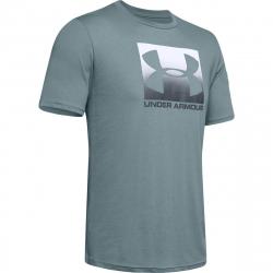 Pánske tréningové tričko s krátkym rukávom UNDER ARMOUR-UA BOXED SPORTSTYLE SS-GRY dark