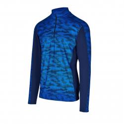 Pánské triko s dlouhým rukávem AUTHORITY-DRY7M blue