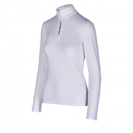 Dámské triko s dlouhým rukávem AUTHORITY-DRY7W I white