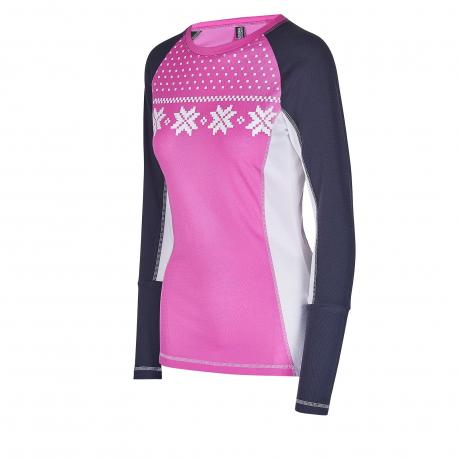 Dámske termo tričko s dlhým rukávom AUTHORITY-THALYNA II pink