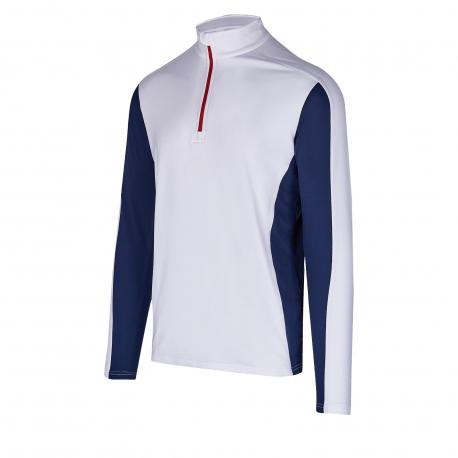Pánske tričko s dlhým rukávom AUTHORITY-DRY7M white