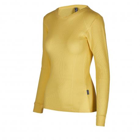 Dámské termo triko s dlouhým rukávem AUTHORITY-DAMETYNA yellow