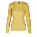 Dámske termo tričko s dlhým rukávom AUTHORITY-DAMETYNA yellow -