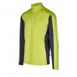 Pánské triko s dlouhým rukávem AUTHORITY-DRY7M neon