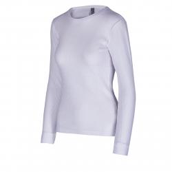 Dámske termo tričko s dlhým rukávom AUTHORITY-DAMETYNA white