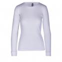 Dámske termo tričko s dlhým rukávom AUTHORITY-DAMETYNA white -