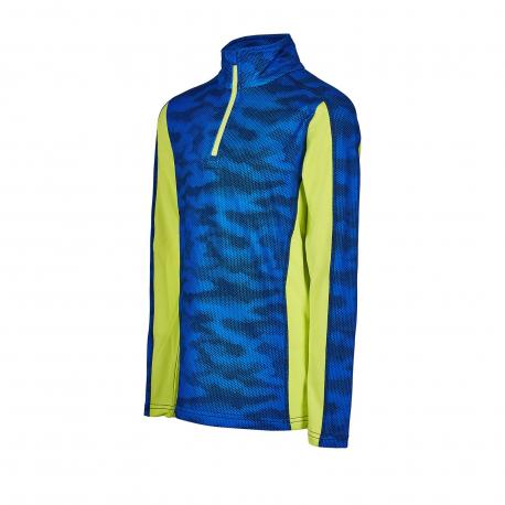 Chlapčenské tričko s dlhým rukávom AUTHORITY KIDS-DRY7M B blue