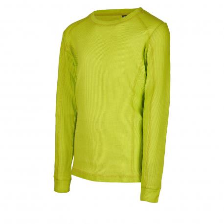 Dětské termo triko s dlouhým rukávem AUTHORITY-DANTYNA neon