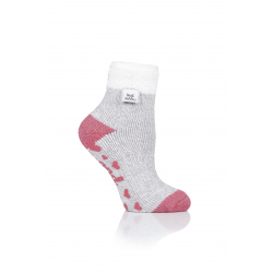 Dámske ponožky HEAT HOLDERS-LADIES LOUNGE SOCKS - FEATHER TOP-TWIST - LIGHT