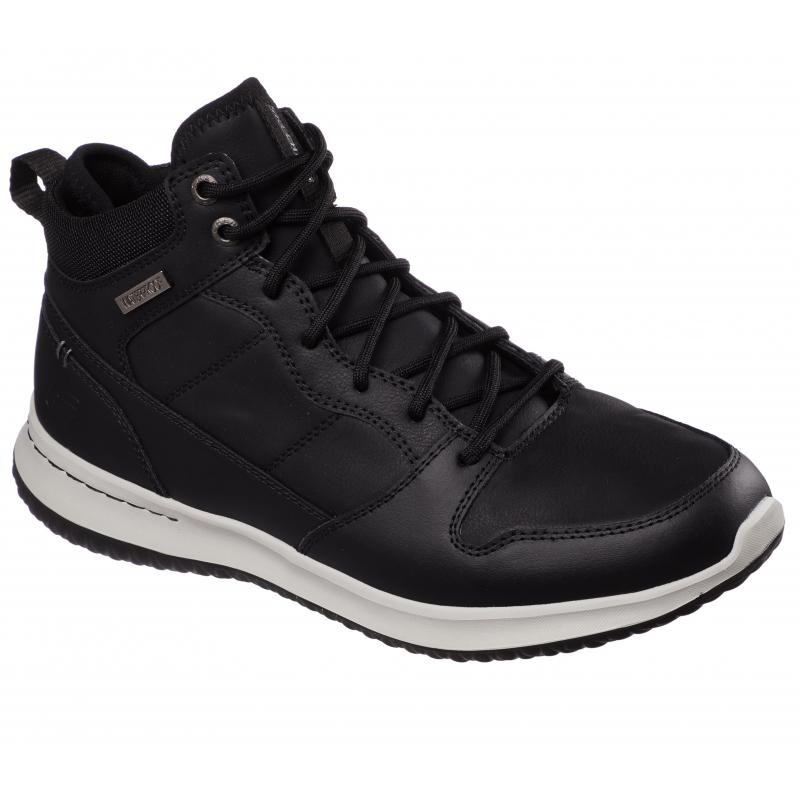 Pánská vycházková obuv SKECHERS-Delson - Selecto black 42 Černá