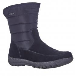 Dámska zimná obuv vysoká SOFT DREAMS-Hammaro black