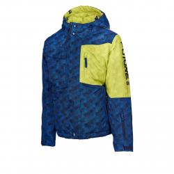 Chlapčenská lyžiarska bunda AUTHORITY-FURT90 B dk blue