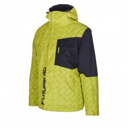 Pánska lyžiarska bunda AUTHORITY-FURT90 neon
