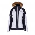 Dámská lyžařská bunda BLIZZARD-Viva Ski Jacket Cortina, white / black / silver -