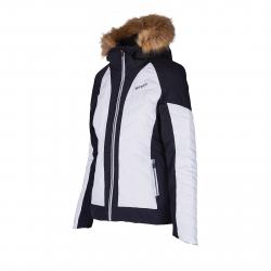 Dámska lyžiarska bunda BLIZZARD-Viva Ski Jacket Cortina, white/black/silver