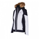 Dámska lyžiarska bunda BLIZZARD-Viva Ski Jacket Cortina, white/black/silver -
