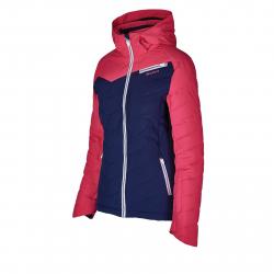 Dámska lyžiarska bunda BLIZZARD-Viva Ski Jacket Carezza, dark blue/pink/white