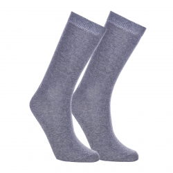 Ponožky AUTHORITY-SOCK HIGH 2 PCK GREY