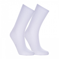 Ponožky AUTHORITY-SOCK HIGH TERRY 2 PCK WHITE
