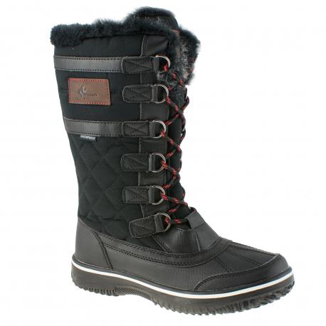 Dámska zimná obuv vysoká VEMONT-Narton black