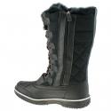 Dámska zimná obuv vysoká VEMONT-Narton black -