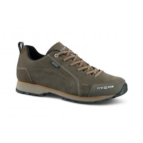 Pánska turistická obuv nízka TREZETA-FLOW EVO WP BROWN