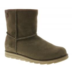 Dámska zimná obuv vysoká BRUNO BANANI-Medelby brown