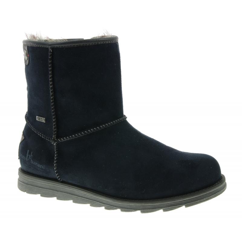 Dámska zimná obuv vysoká BRUNO BANANI-Medelby blue dark -