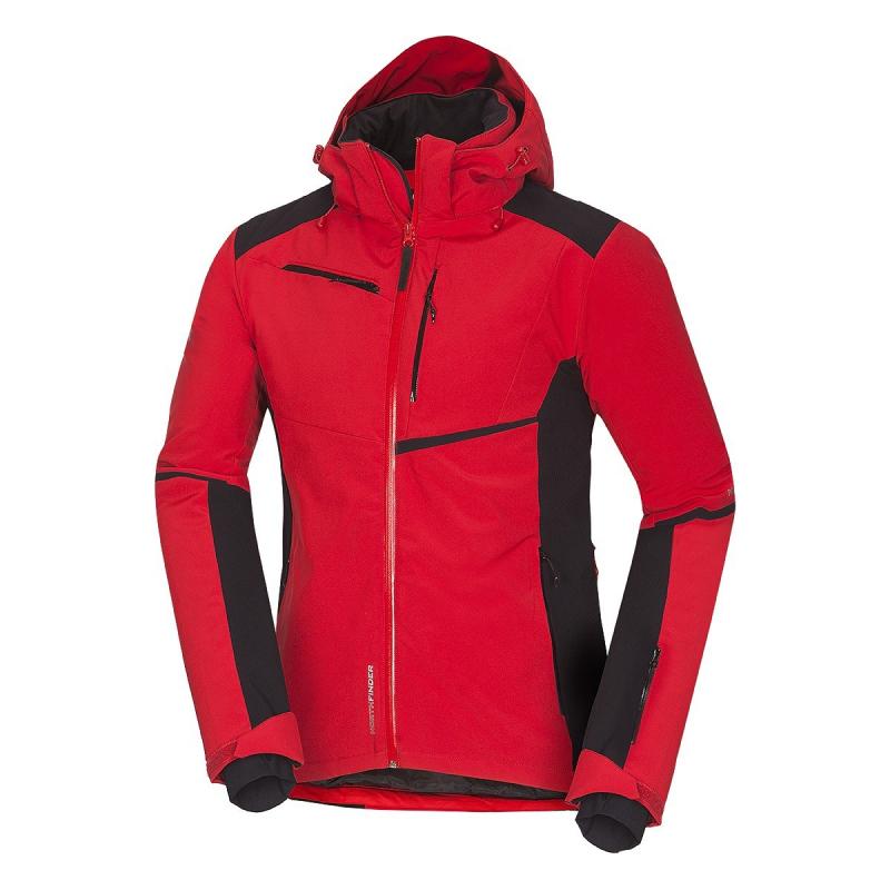 Pánska lyžiarska bunda NORTHFINDER-CYRUS-red -