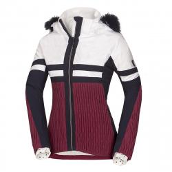 Dámska lyžiarska bunda NORTHFINDER-AMITY-darkred
