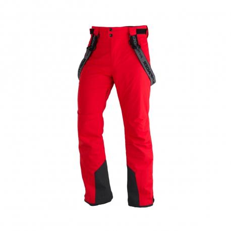 Pánske lyžiarske nohavice NORTHFINDER-LARK-redblack