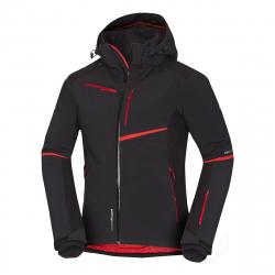 Pánska lyžiarska bunda NORTHFINDER-CYRUS-blackred