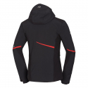 Pánska lyžiarska bunda NORTHFINDER-CYRUS-blackred -