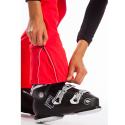 Dámské lyžařské softshellové kalhoty FUNDANGO-GALENA-352-coral -