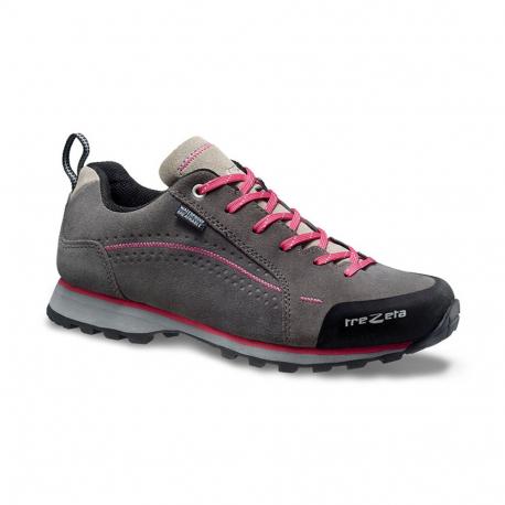 Dámska turistická obuv nízka TREZETA-SPRING EVO WP GREY MAGENTA