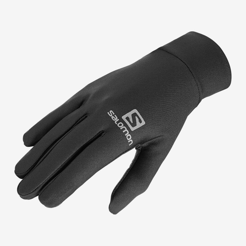 Lyžiarske rukavice SALOMON-AGILE WARM GLOVE U Black -