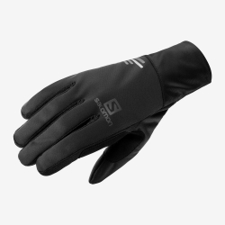 Lyžařské rukavice Salomon-EQUIPE GLOVE U Black / Black