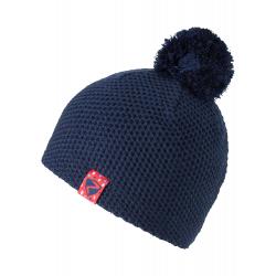Detská zimná čiapka ZIENER-ISHI JUNIOR hat-802166-204-Blue dark