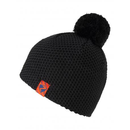 Dětská zimní čepice ZIENER-Ishii JUNIOR hat-802166-12-Black
