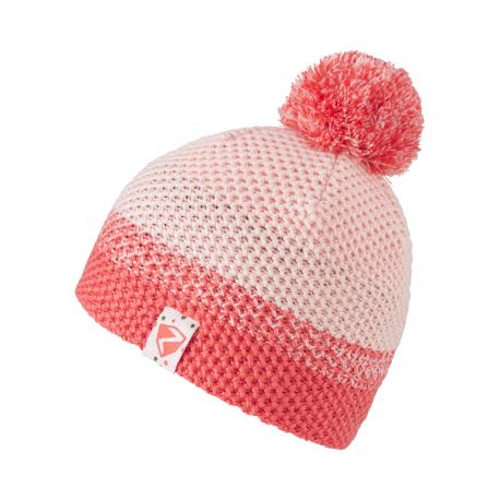 Dětská zimní čepice ZIENER-Ishii JUNIOR hat-802166-24-Pink light