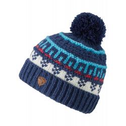 Dětská zimní čepice ZIENER-IRISSA junior hat-192165-20401-Blue dark