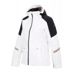 Dámska lyžiarska bunda ZIENER-TRINE lady (jacket ski)-194101-01-White