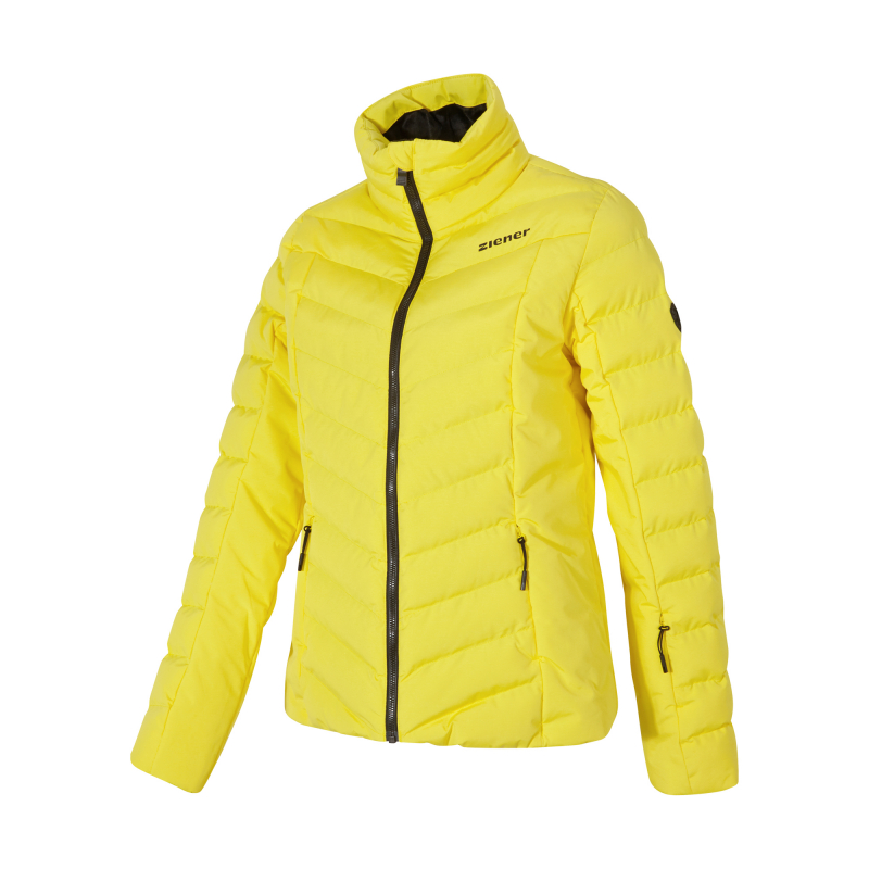 Dámska lyžiarska bunda ZIENER-TALMA lady (jacket ski)-194100-884-Yellow -