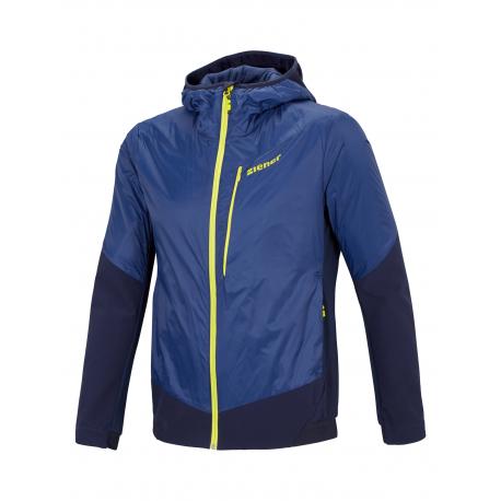 Pánska športová bunda ZIENER-NATALINO man (jacket active)-194272-204-Blue dark