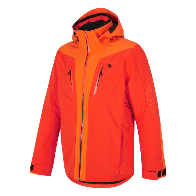 ZIENER-TWOMILE man (jacket ski)-194202-421187-Orange Oranžová XL
