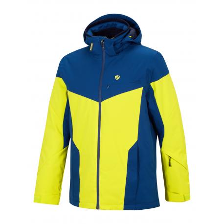 Pánska lyžiarska bunda ZIENER-TOCCOA man (jacket ski)-194200-413981-Yellow neon