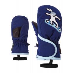 Dětské lyžařské rukavice ZIENER-Lolly AS (R) MINIS glove-191950-143-Blue